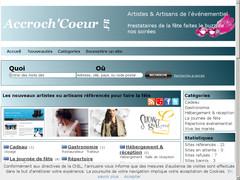 AccrochCoeur - Annuaire événementiel
