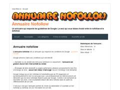 Un annuaire nofollow / dofollow