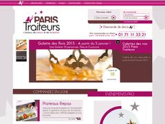 Plateau repas avec Paris-Traiteurs
