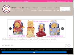 Idée cadeau bébé avec Petitloup.fr