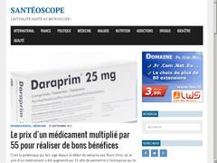 Actualité santé avec SantéOscope