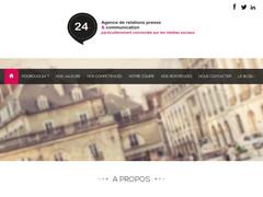 Vingt-quatre, agence de communication à Dijon