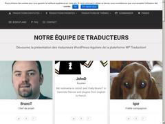 Traductions WordPress