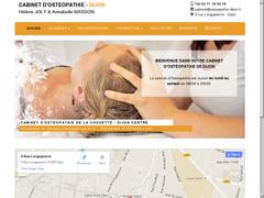 Ostéopathie Dijon - Hélène et Annabelle